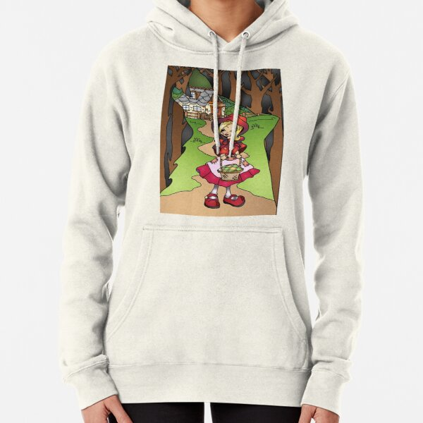 Little Red Riding Hood  Pullover Hoodie