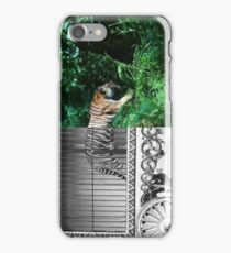 The Animals Must Live Free, Not In The Cages iPhone Case/Skin