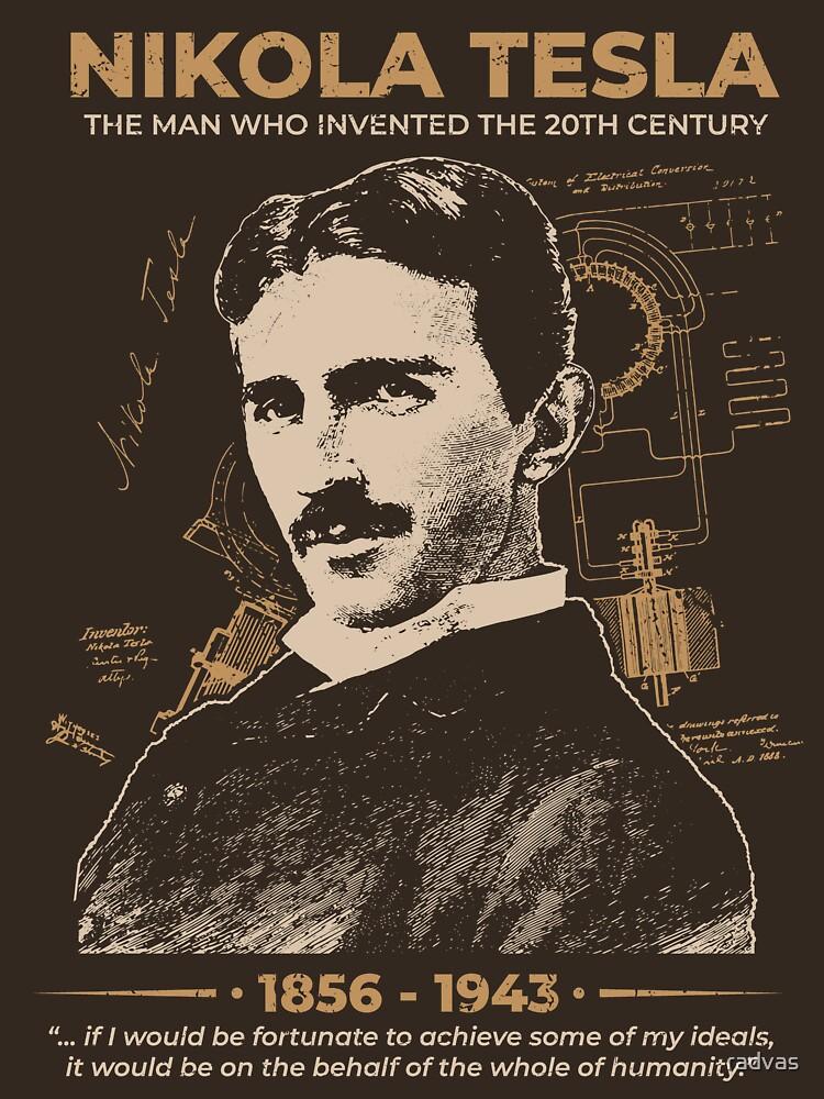 Nikola Tesla by radvas