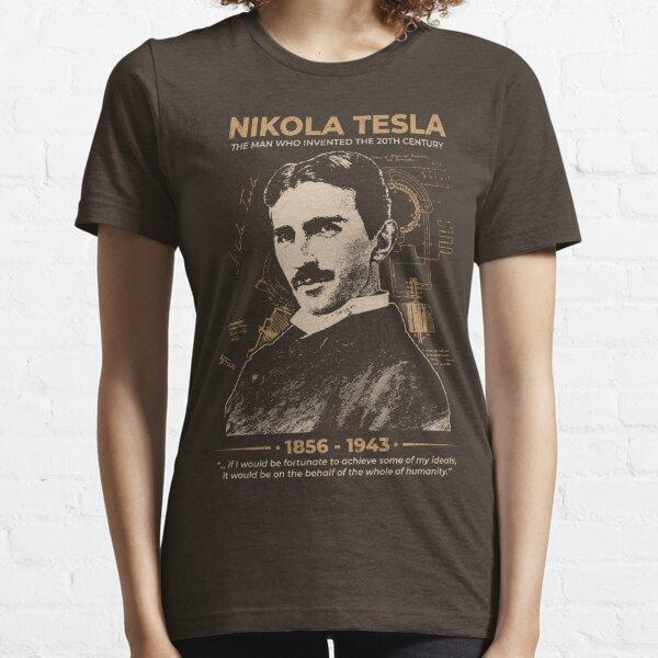 Nikola Tesla Camiseta esencial