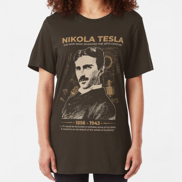 Nikola Tesla Slim Fit T-Shirt