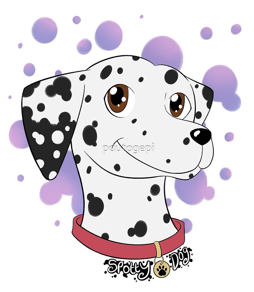Spotty Dog by pdutogepi