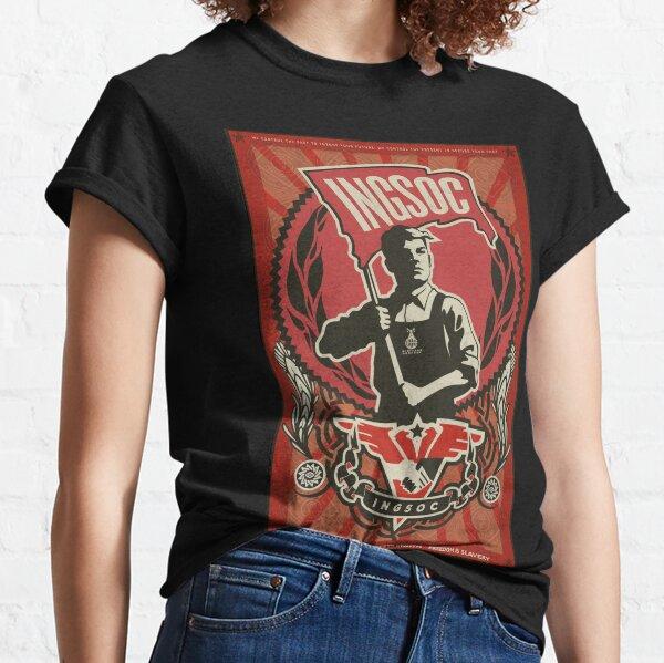 INGSOC 1984 Propaganda Poster Classic T-Shirt