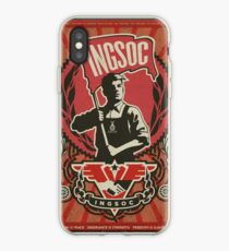 INGSOC 1984 Propaganda Poster iPhone Case