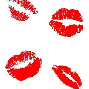 Kiss Lips by mattoakley