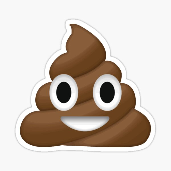 emoji de merde Sticker