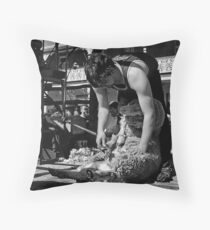 Shearing Throw Pillow