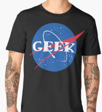 Geek NASA Meatball Parody Men's Premium T-Shirt