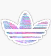 GLITCHY ADIDAS Sticker