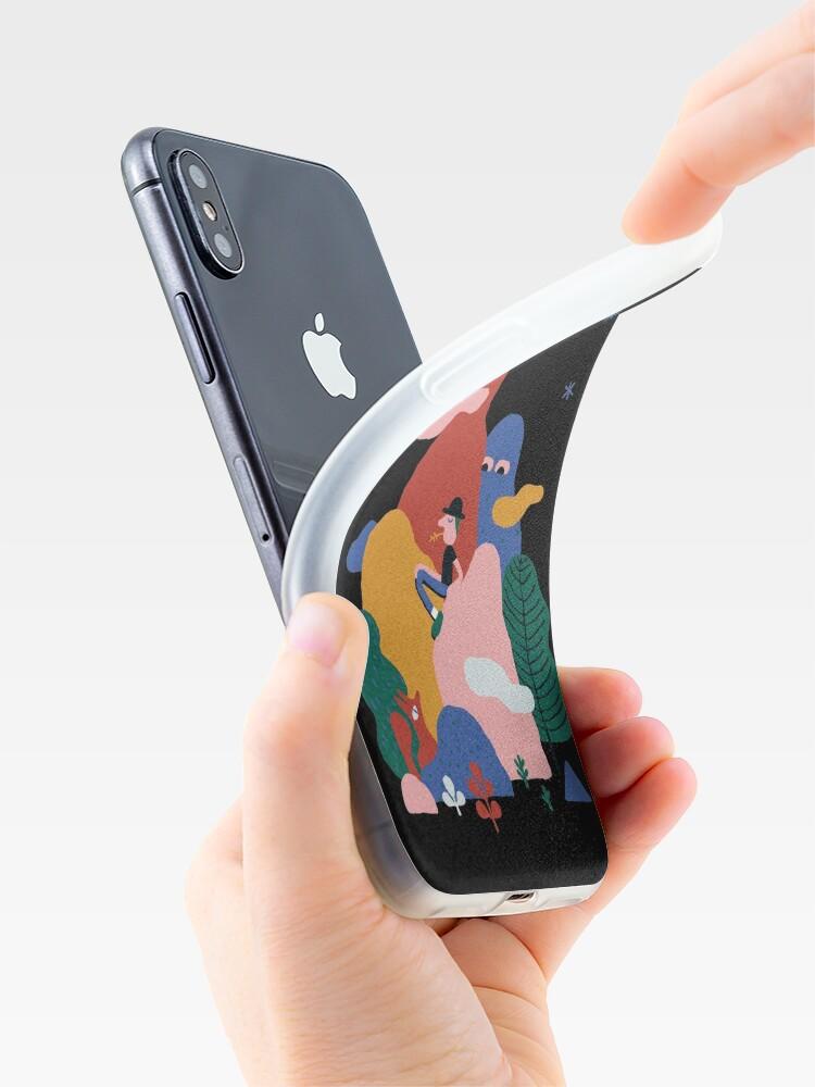 Alternate view of Pleine lune iPhone Case & Cover