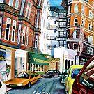High St Kensington, London by GaffaUK