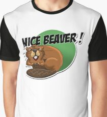 Nice Beaver! Graphic T-Shirt
