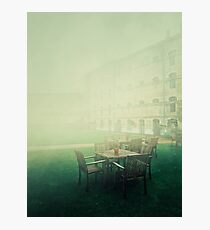 oxford castle silence Photographic Print