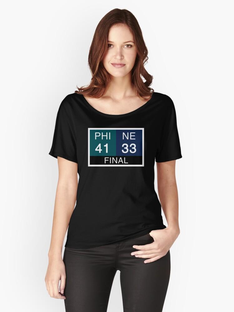 LII Scoreboard Women's Relaxed Fit T-Shirt Front