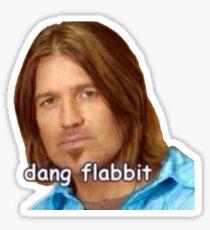 Dang flabbit Sticker