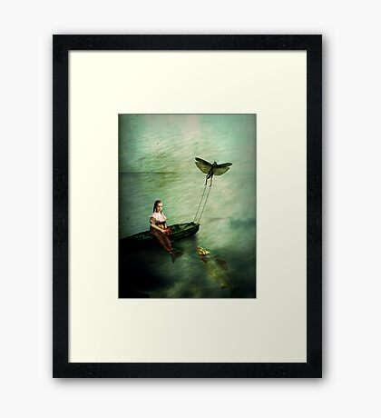 The starfish Framed Print