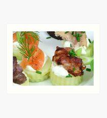 Foodies Art Print