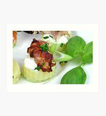 Fresh, Food & Fingerfood Art Print