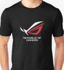 Asus Republic Of Gamers Mercandise Unisex T-Shirt