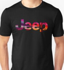 jeep logo desert sunset Unisex T-Shirt