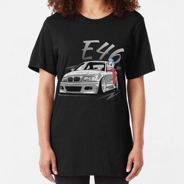 """E46 """"Lowstyle Skulldriver"""" Slim Fit T-Shirt"""