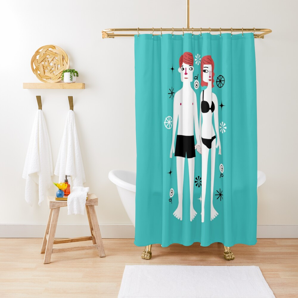 Beside You Shower Curtain