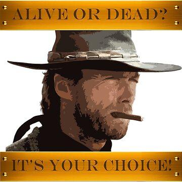 Clint Eastwood - A Fistful of Dollars - Spaghetti Western by Giocor86