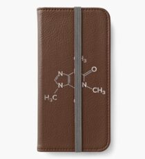 Caffeine Molecule - Funny Coffee Quote Gift iPhone Wallet/Case/Skin