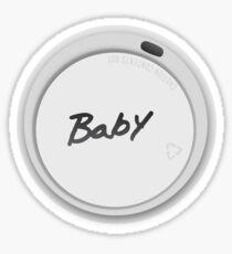 BABY? Sticker