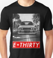 "E30 ""Redstriped"" Unisex T-Shirt"