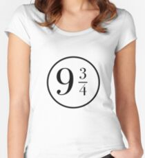 9 3/4 at Kings Cross Women's Fitted Scoop T-Shirt