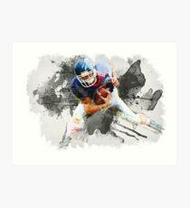 American football player Art Print
