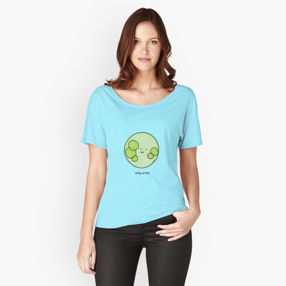 Algae: volvox! Women's Relaxed Fit T-Shirt Front