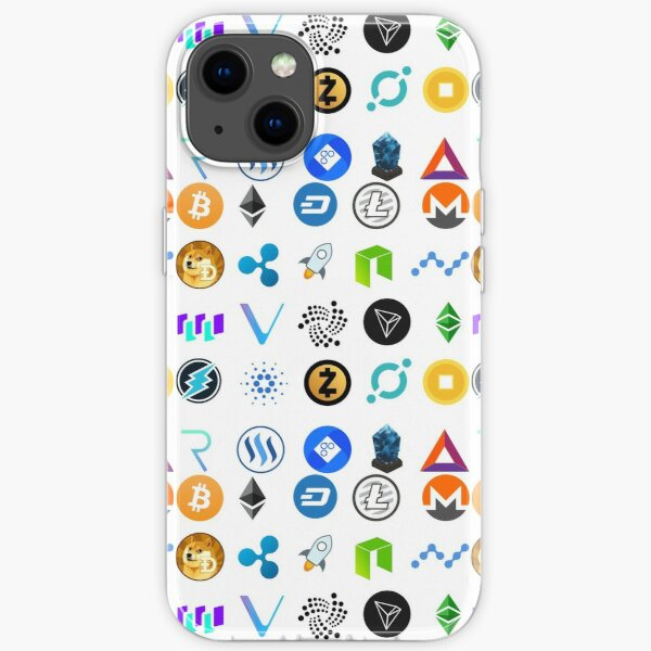 Crypto Coins iPhone Soft Case
