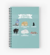 Cats As Coffee Spiral Notebook