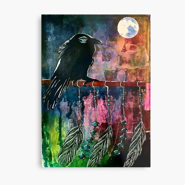 """Moon Child"" Metal Print"