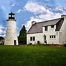 Old Presque Isle Lighthouse - Michigan by Kathy Weaver