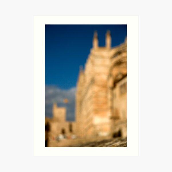 La Seu - Palma de Mallorcas 12th Century Cathedral Art Print