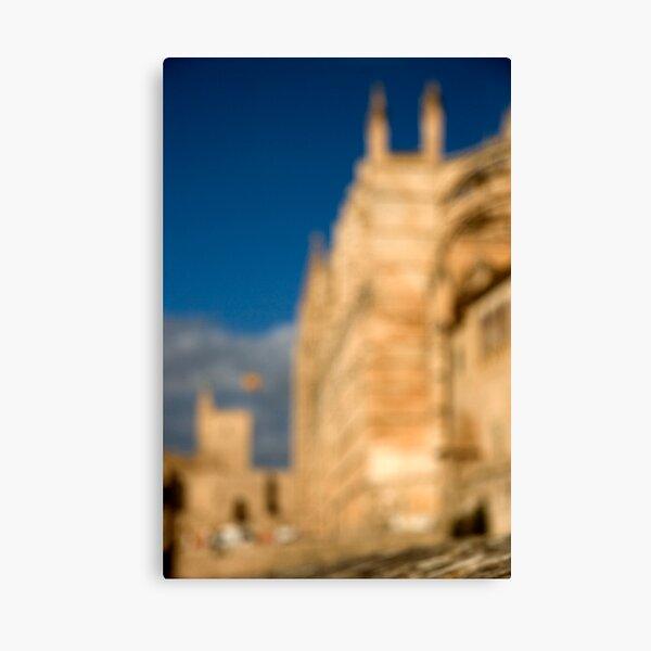 La Seu - Palma de Mallorcas 12th Century Cathedral Canvas Print