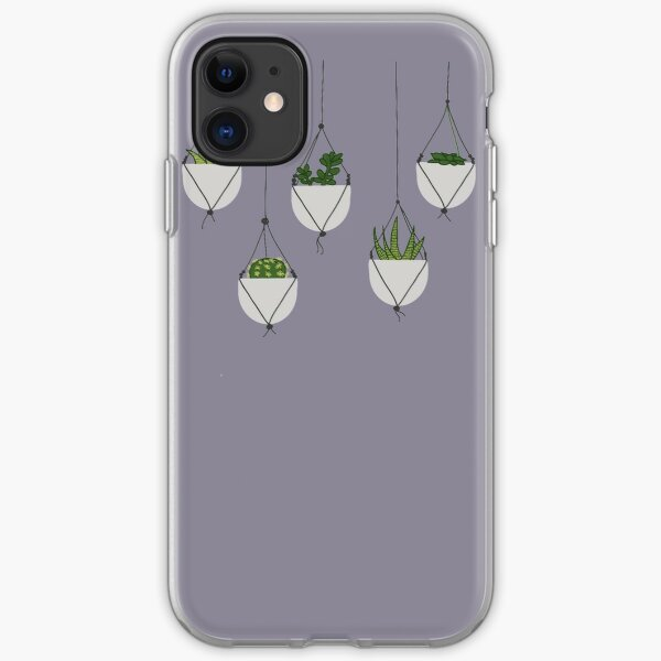 Hanging Succulents and Cacti iPhone Soft Case