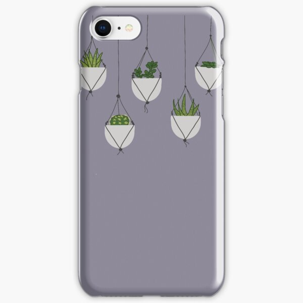 Hanging Succulents and Cacti iPhone Snap Case