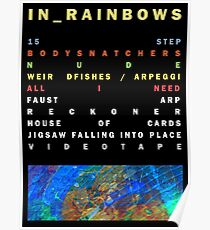 Radiohead - In Rainbows Poster