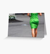 Walk on by.... Greeting Card