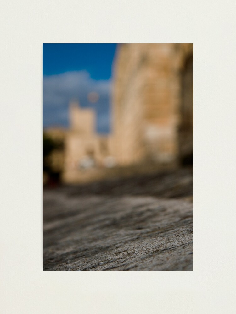 Alternate view of La Seu - Palma de Mallorcas 12th Century Cathedral #2 Photographic Print