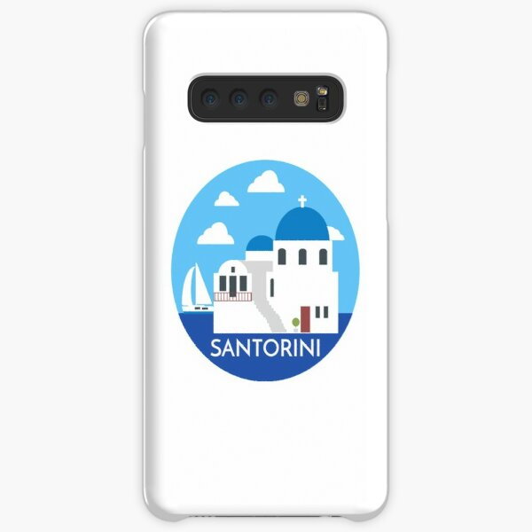 Santorini Greece Samsung Galaxy Snap Case