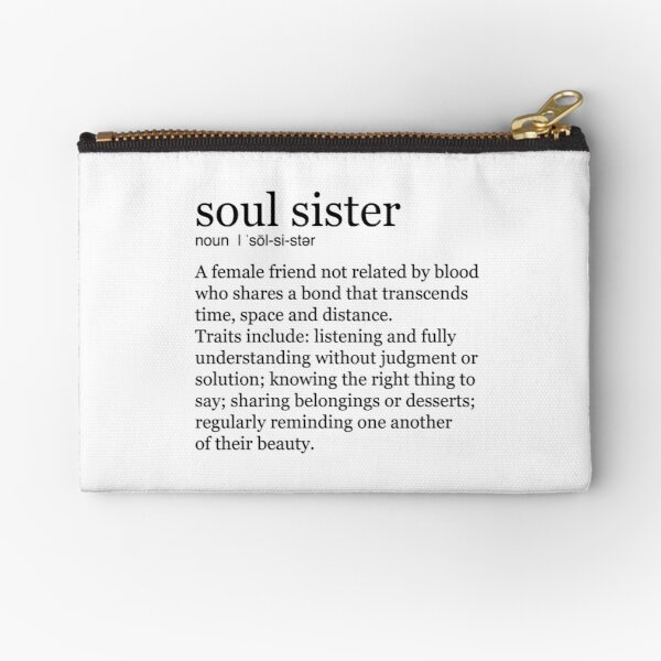 Soul Sister Zipper Pouch