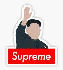 Kim Jon Un - Supreme Leader Sticker