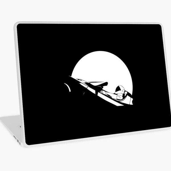 Starman In Space Tesla Roadster Laptop Skin