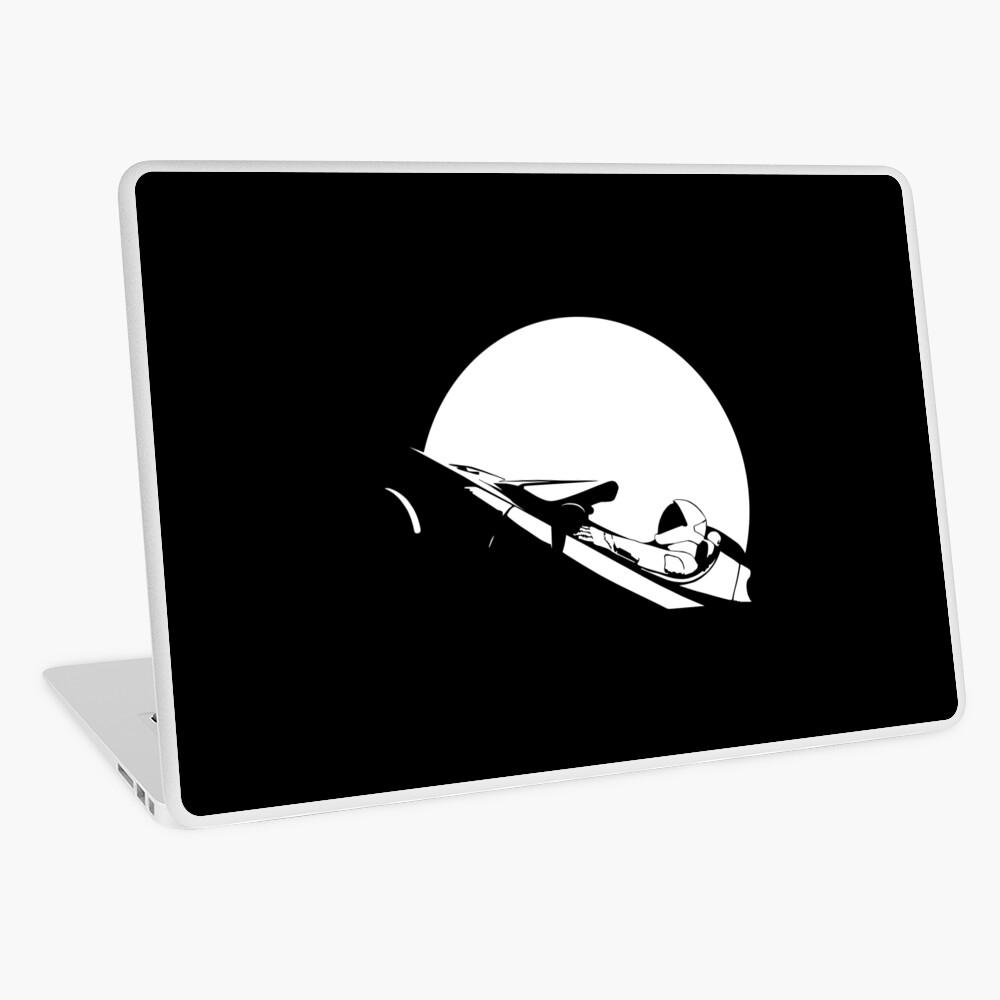 Starman In Space Tesla Roadster Laptop Skin