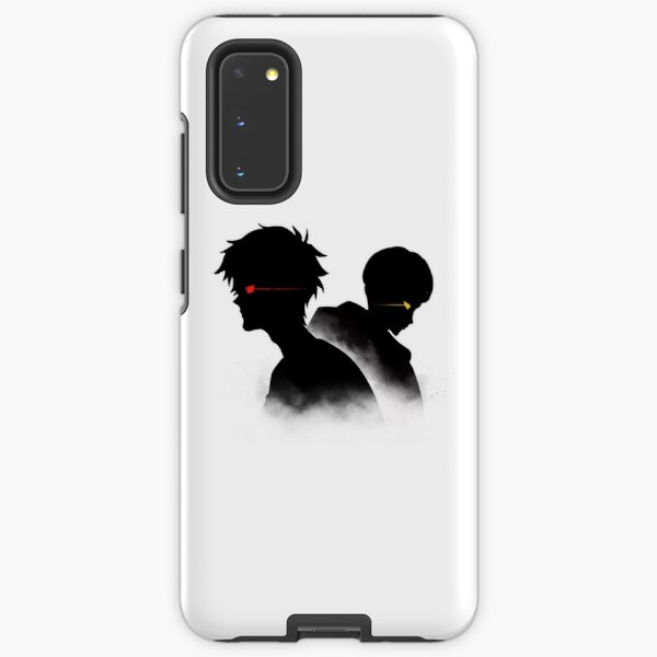 Devilman Crybaby - Ryo and Akira Silhouette Samsung Galaxy Tough Case